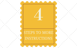 4 Steps To More Instructions