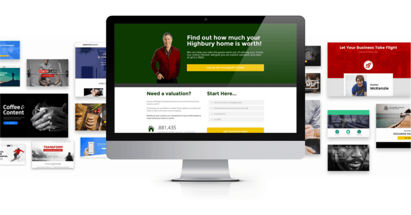 Landing Pages For Estate Agents - EAanalytics